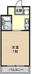 プライム室町[402号室号室]の間取り