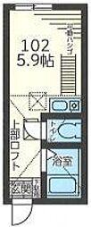 パークス横濱[1階]の間取り