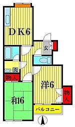 プレミアムハイツ[1階]の間取り