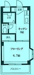 メゾン喜多路[3階]の間取り