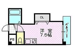 ダゼアマンション[3階]の間取り