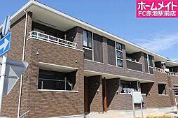 愛知県名古屋市天白区池場2丁目の賃貸アパートの外観