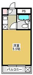 コスモハウス[303号室号室]の間取り