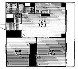 一太郎 大宮[202号室号室]の間取り