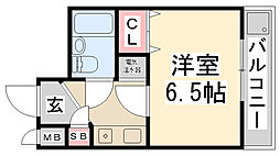 ZONE 1/f Part1[305号室]の間取り