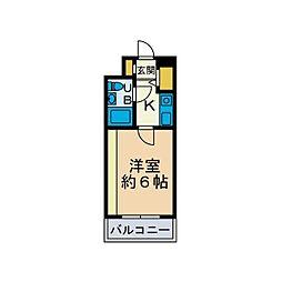 Jステージ本厚木[3階]の間取り