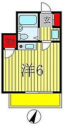 CASA ISHI I[1階]の間取り