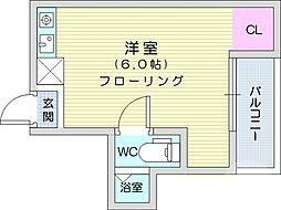 五橋駅 3.4万円