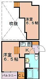 ブルーレーベル[1階]の間取り