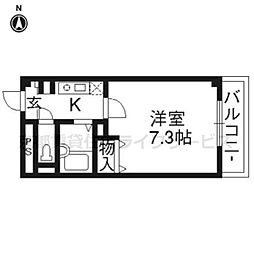 MONAMI[506号室]の間取り