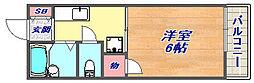 アルティスタ神戸[203号室]の間取り