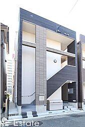 愛知県名古屋市熱田区二番1丁目の賃貸アパートの外観
