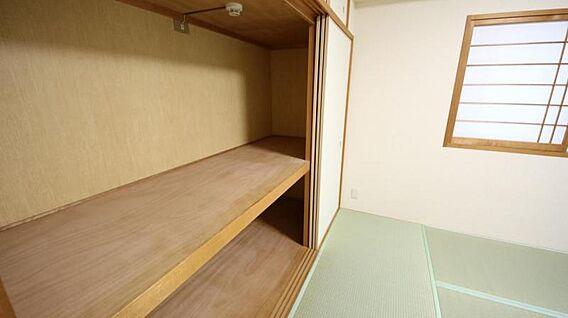 和室の収納です...