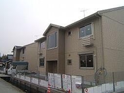 滋賀県栗東市北中小路の賃貸アパートの外観