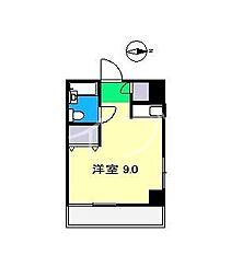 コンフォール朝倉[4階]の間取り