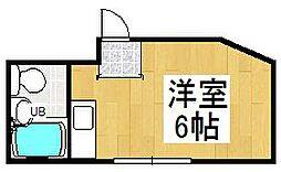 川端マンション[3階]の間取り