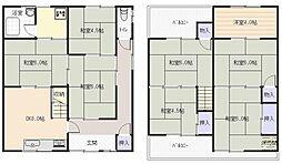 [テラスハウス] 大阪府八尾市宮町2丁目 の賃貸【/】の間取り