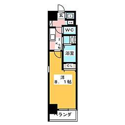 ミュウミュウ[2階]の間取り