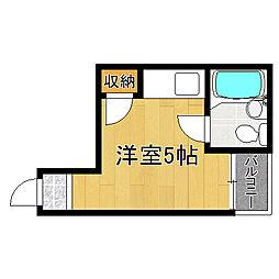 井上マンション[3階]の間取り