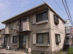 埼玉県富士見市水谷東2丁目の賃貸アパートの外観