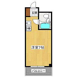ラ・レジダンス・ド・四条[3階]の間取り
