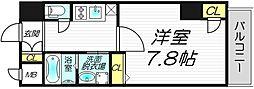レジュールアッシュ・プレミアムツインI[13階]の間取り