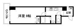 京都烏丸保粋ビル[7階]の間取り