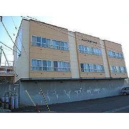 北海道室蘭市日の出町3丁目の賃貸アパートの外観