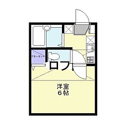 ロジュマン川越砂新田7番館[2階]の間取り