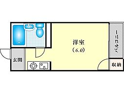 JPアパートメント東淀川III[3階]の間取り