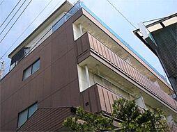 東京都府中市武蔵台1丁目の賃貸マンションの外観
