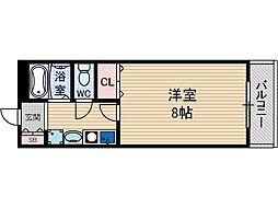 セントヴィラ[1階]の間取り