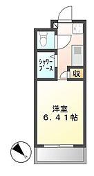 N.S.ZEAL東別院[13階]の間取り