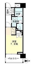 東京都新宿区白銀町の賃貸マンションの間取り