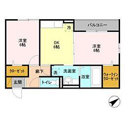 FEST ICHIKAWA[303号室]の間取り