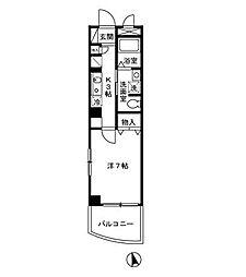 GOTOII[9階]の間取り