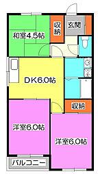OZマンション[1階]の間取り