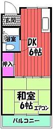大阪府和泉市幸3丁目の賃貸アパートの間取り