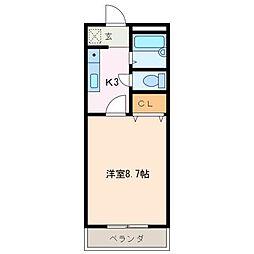 フロール[3階]の間取り