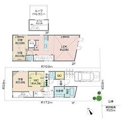 JR中央線 三鷹駅 バス6分 関前3丁目下車 徒歩1分 3LDKの間取り