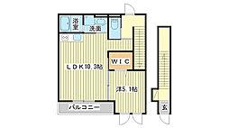 仮)花田町小川新築アパート[203号室]の間取り