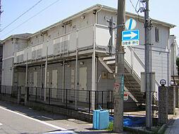兵庫県西宮市津門川町の賃貸アパートの外観