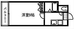 ロイヤルプレジデント[12階]の間取り