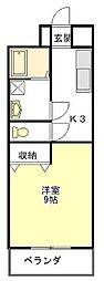 シンフォニー上浜[2階]の間取り