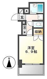 グランパス壇渓[1階]の間取り