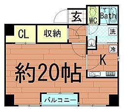 AXIS京町堀[4階]の間取り