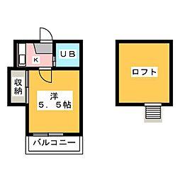i・city妙興寺[2階]の間取り
