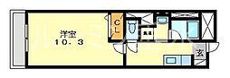 フェニックスK2[3階]の間取り