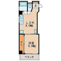 矢場町駅 4.8万円