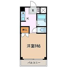 福安ビル[3階]の間取り